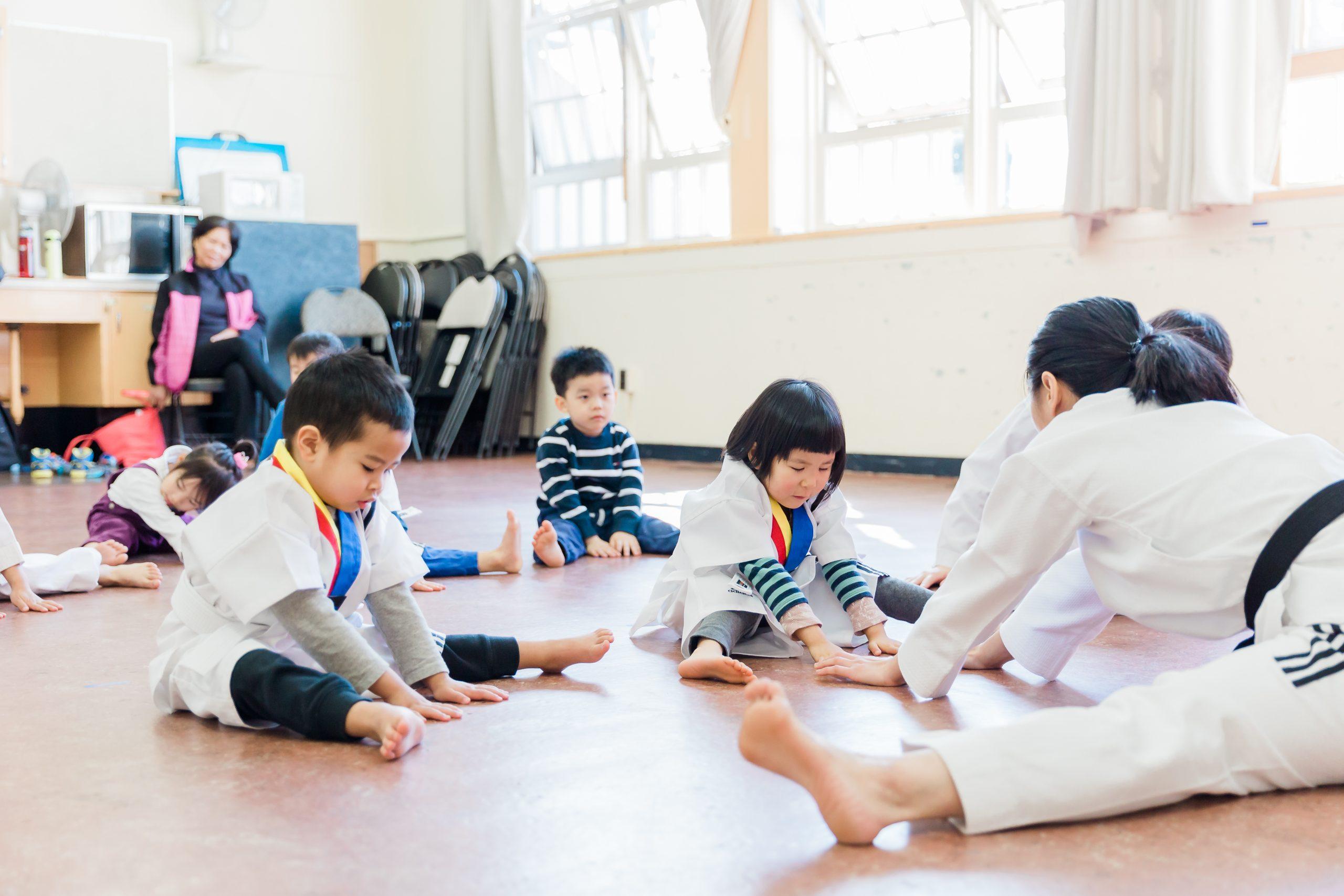 Preschooler class at Light and Love Home
