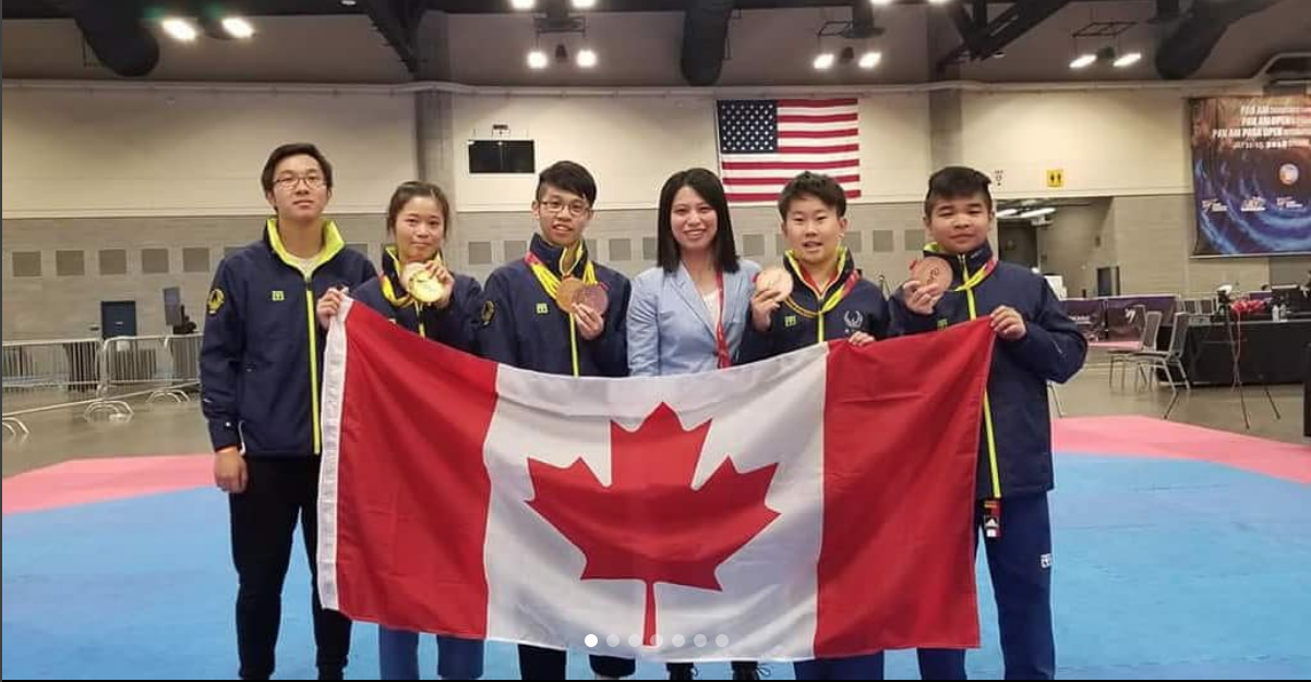 Medals Won at Pan Am Open Championships