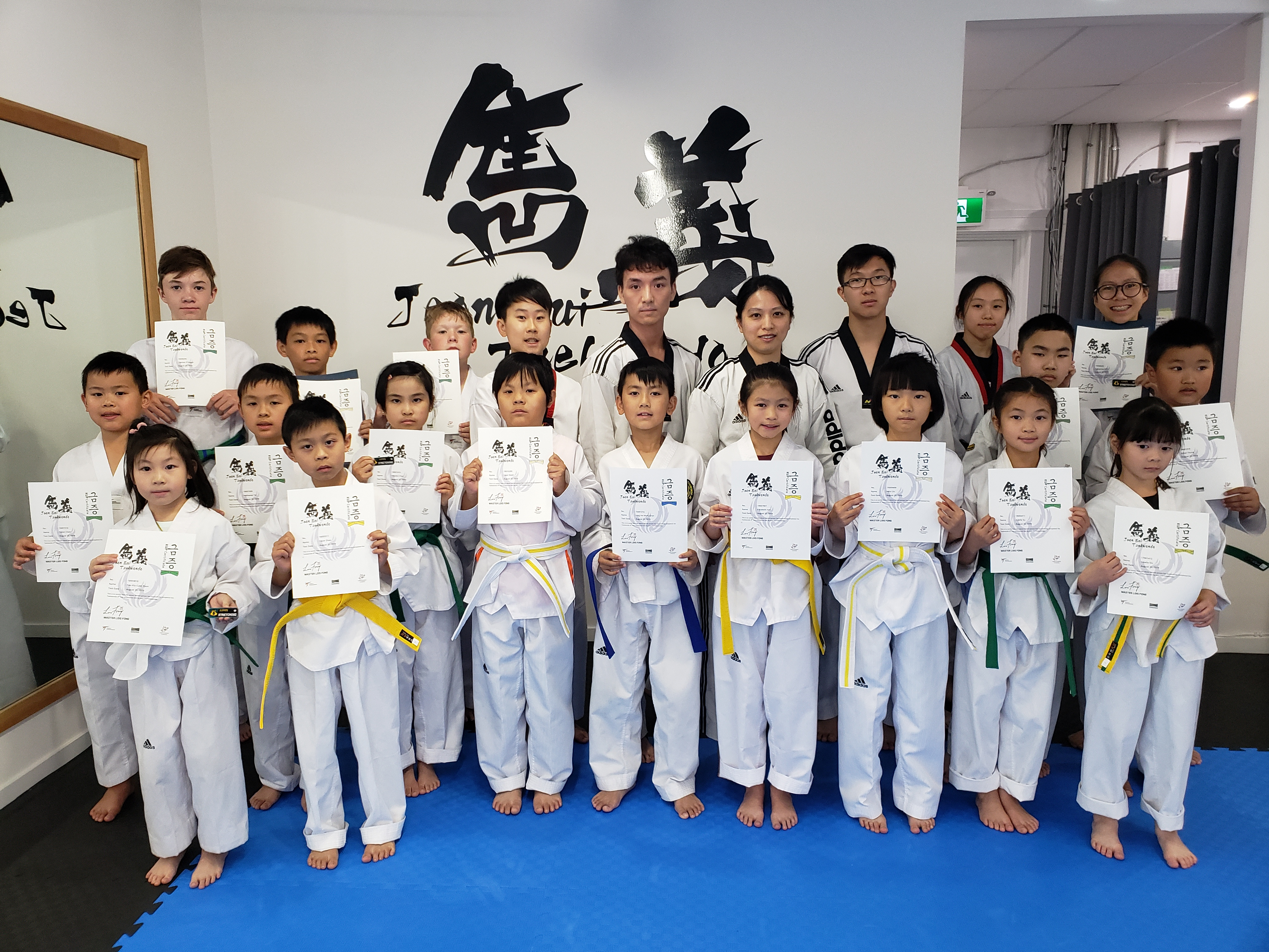 Promotion Test in August 2019