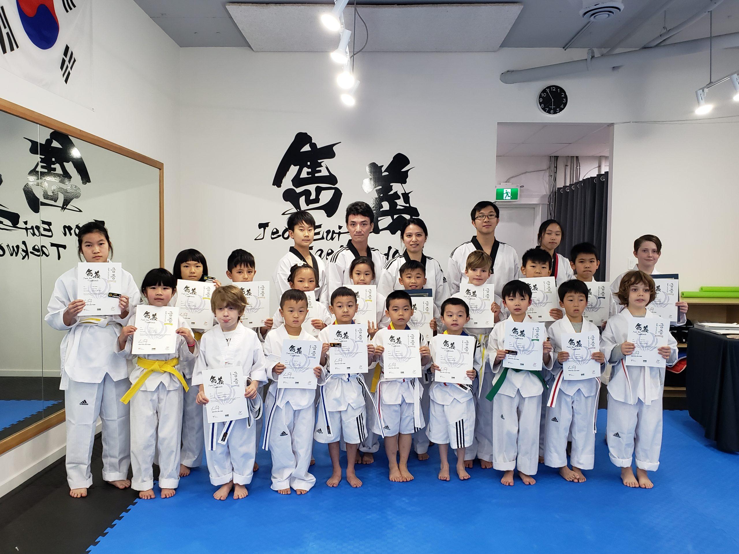 Promotion Test in October 2019