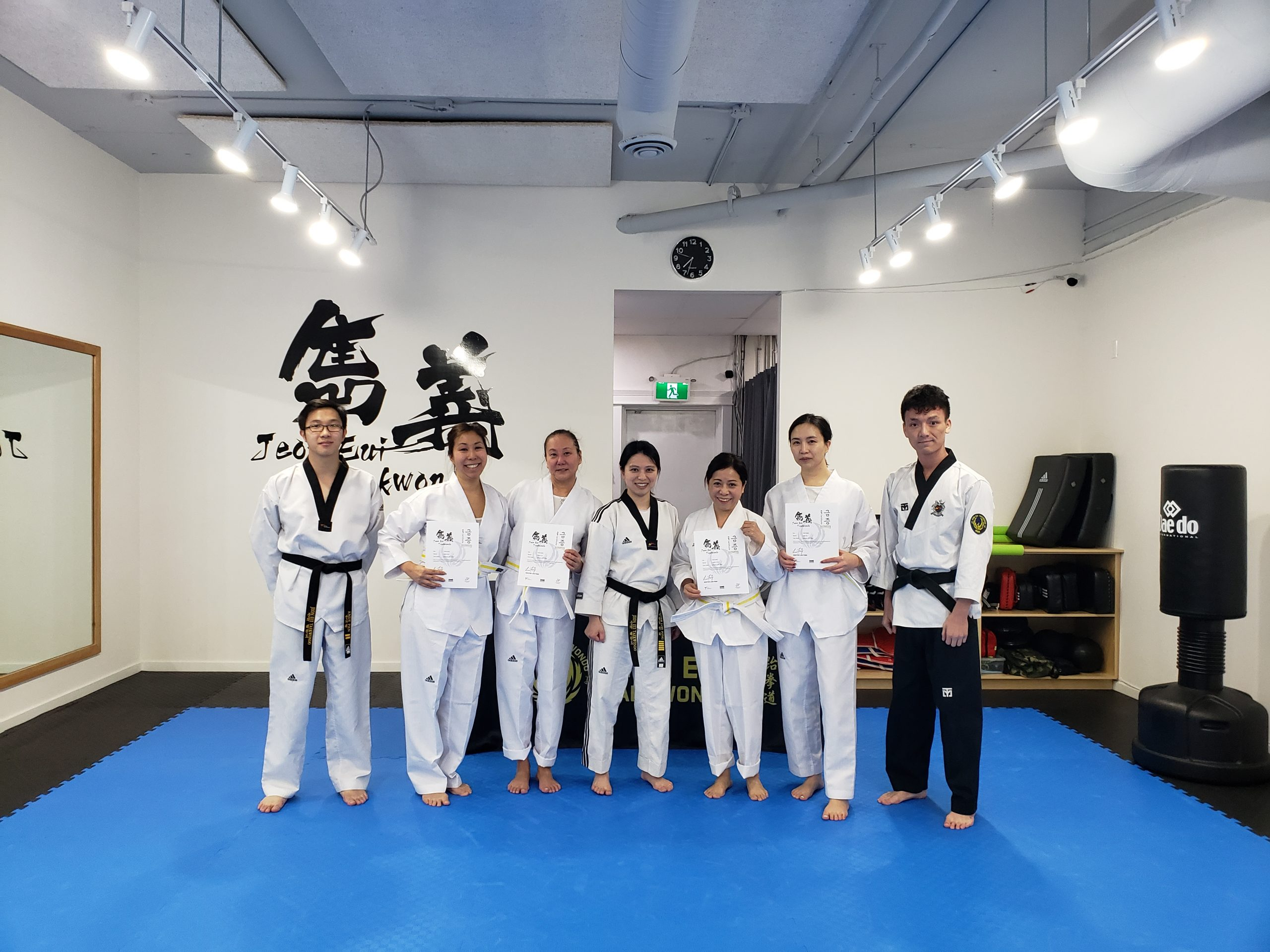 Adult Promotion Test in January 2020
