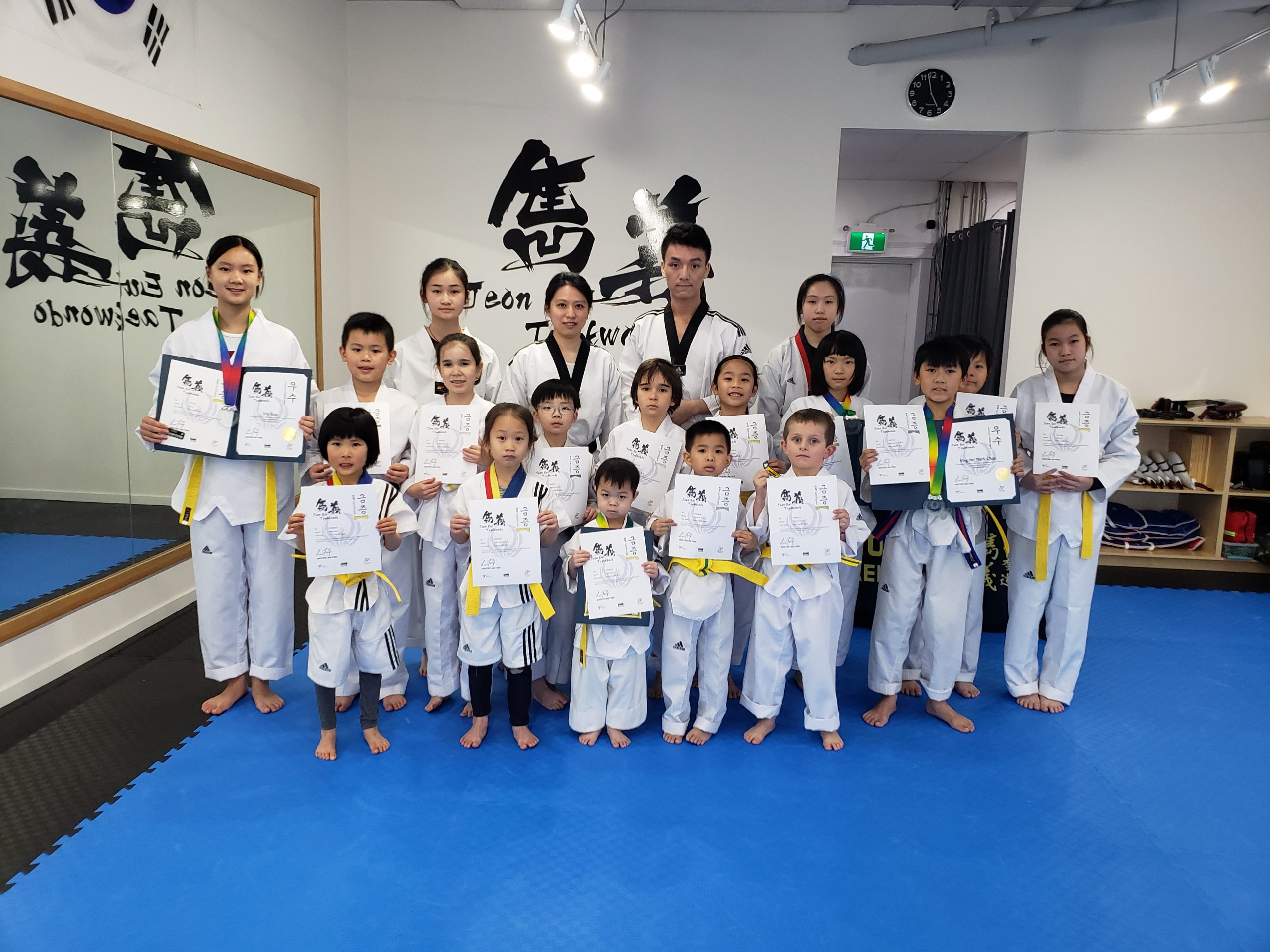 Promotion Test in February 2020