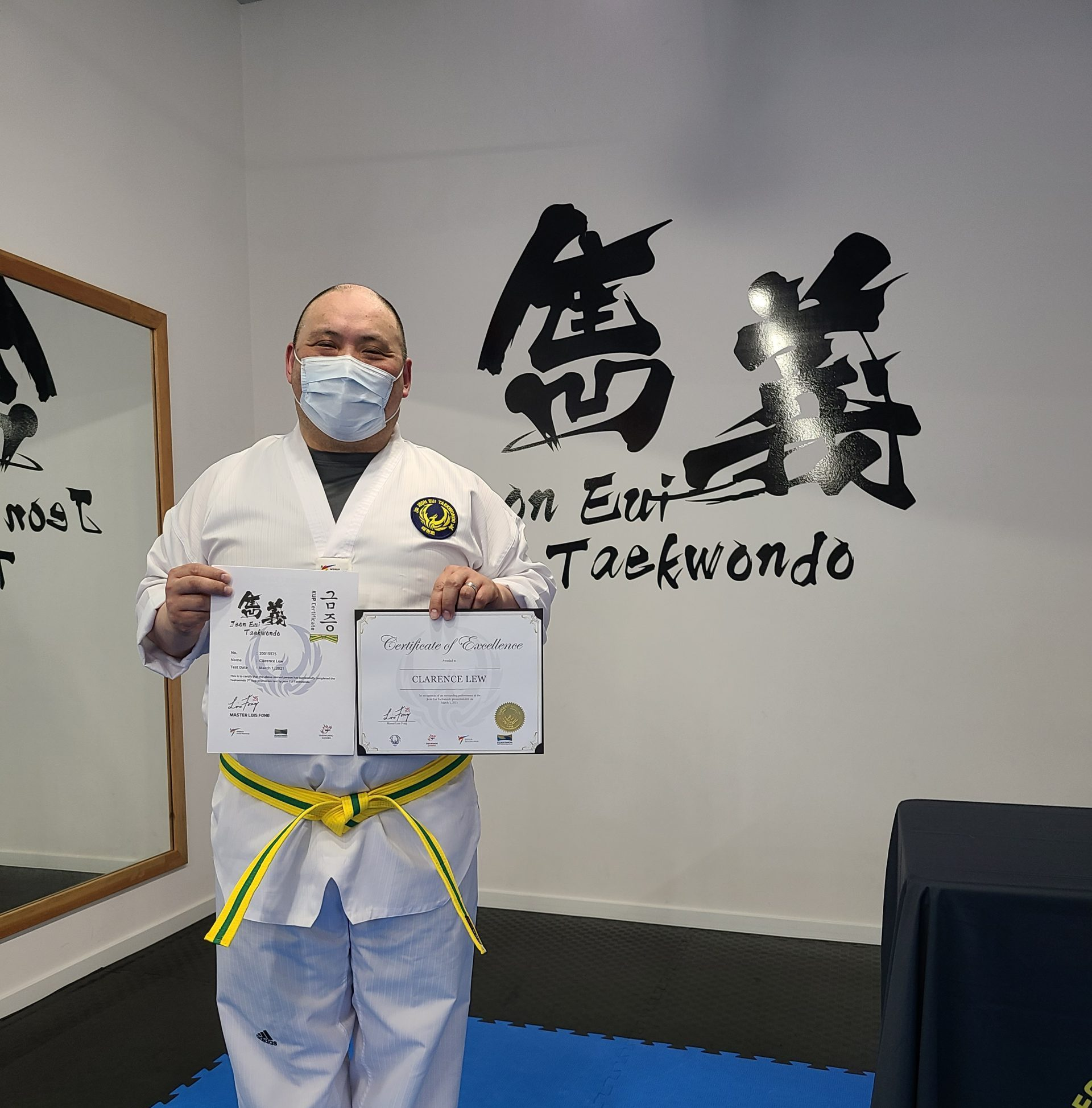 Adult Promotion Test in March 2021