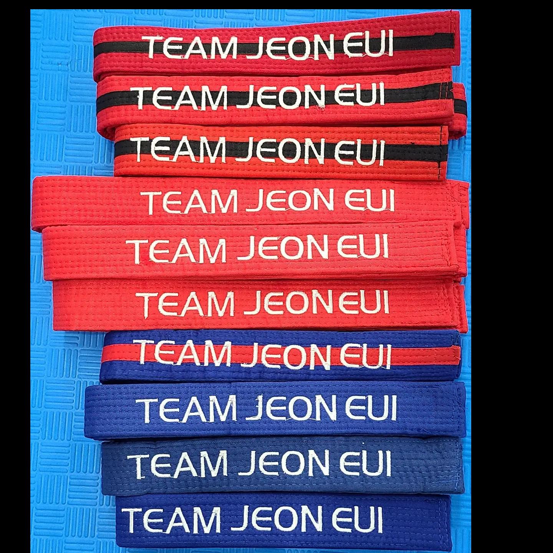 Team Jeon Eui Belts